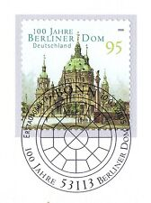 BRD 2005: Berliner Dom! Selbstklebende Nr. 2446 mit Bonner Sonderstempel! 1A 156