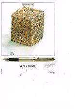 PUBLICITE ADVERTISING 054 1979  PARKER  stylo  signé CESAR