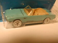 late 80`s Classics `65 MUSTANG CONVERTIBLE light blue/teal, tan int  MIP BP 1988