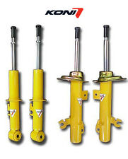 KONI YELLOW SPORT SHOCKS STRUTS 1996-2000 HONDA CIVIC COUPE SEDAN HATCHBACK EK