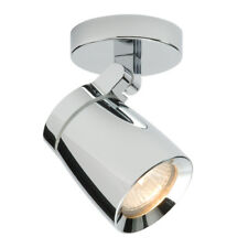 SAXBY KNIGHT Chrome GU10 Adjustable Bathroom Ceiling Spotlights IP44 39166