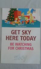 Sky Simpsons Poster 2003