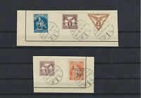 Fiume 1919 Overprints Postage Dues Newspaper Stamps Ref: R4501