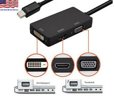 Mini DisplayPort DP to HDMI VGA DVI Converter For Microsoft Surface Pro 1 2 3 4