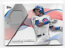 2017 Topps Series 1 Material Relic #MLM-ARU Addison Russell Cubs