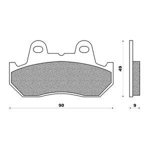 Newfren Front Brake Pad for Honda CB750F CB750F2 CBX1000 PRO LINK CX650 VF400F