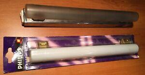 Réglette électrique tube LINOLITE 230 v 35w interrupteur intégré+tube neuf (A10)