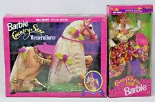 1994 Barbie COUNTRY STAR WESTERN HORSE & Companion BARBIE Walmart Sp Ed NRFB