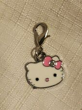 Hello Kitty Inspired Dangle Charm  Clip On