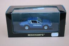 J173 MINICHAMPS 1/43 400 113590 Renault Alpine A310 gendarmerie bleu