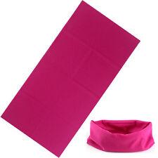 sciarpa bandana tubolare tipo moto softair microfibra rosa pink UNISEX
