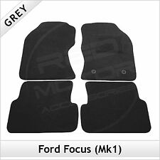 Ford Focus Mk1 1998-2005 Fully Tailored Fitted Carpet Car Floor Mats GREY