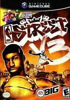 NBA STREET V3 - Authentic Nintendo Gamecube Game