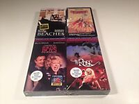 Bette Midler Lot of 4 New Sealed VHS Music & Drama The Rose Beaches For The Boys