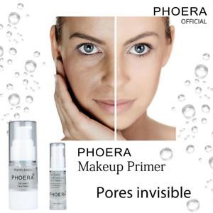 MAKE UP PRIMER | Phoera Oil Control Pore Minimizer Eraser Face Skin Concealer UK