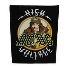 AC/DC Backpatch HIGH VOLTAGE Rückenaufnäher ACDC - Heavy Metal - Australian Rock