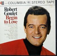 Robert Goulet Begin to Love Reel to Reel Tape