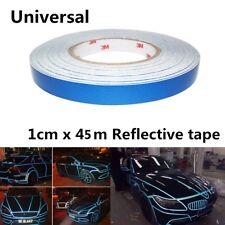 45M Reflective Sticker Car Truck Boat Marine Body Stripe Self Adhesive Tape Blue