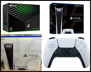 Sony PlayStation 5 PS5 Digital or Disc Console Bundle, Microsoft XBox Series X