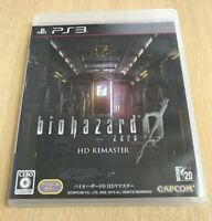USED PS3 Biohazard 0 Zero HD Remaster Resident evil PlayStation 3 From Japan