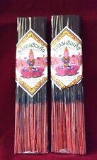 Thai Scented Incense Joss Sticks For Buddha Altar Shrine 2 Packs (ธูปหอมอินเดีย)