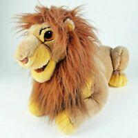"Jumbo Disney Lion King Adult Simba Plush Hand Puppet Large 24"" Long Stuffed Toy"