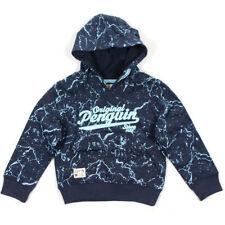 Sweats et vestes à capuche bleu pour garçon de 2 à 16 ans en 100% coton