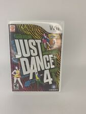 Just Dance 4 (Nintendo Wii, 2012) Complete and Tested Fast Free Shipping!