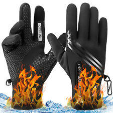 Waterproof Winter Warm Thermal Gloves Cycling Motorcycle Touch Screen Men Women