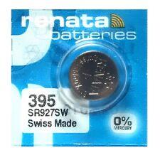 Renata 395 SR927SW SR57 SR927 Button Silver Oxide Battery (1 Piece)