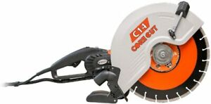 Diamond Products Core Cut 48975 C14 Electric Hand Wet and Dry Concrete Saw, 14""