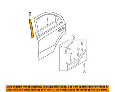 KIA OEM 03-09 Sorento Exterior-Rear-Black Out Tape Left 863813E000