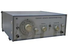 10Hz-10Mhz 0dB-70dB G3-112/1 Low Frequency Signal Generator an-g Noisecom GenRad