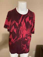 VTG 90's RARE NIKE Air Jordan Dunking All Over Print Mens Basketball T Shirt L
