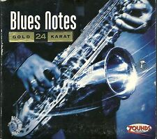 Blues Notes Various 24 CT Zounds Gold CD Audio's Audiophile Vol. 13 Poo