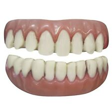 Tinsley Transfers Long Tooth 2pc False Teeth FX White Pink