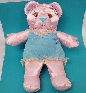 "Tyco Doodle Bear Plush 15"" Vintage 1996 Stuffed Animal Doll Denim"