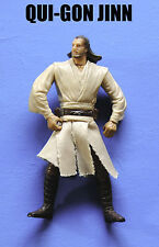 Star Wars Jedi Master Qui-Gon Jinn Army Builder! Action Figure!