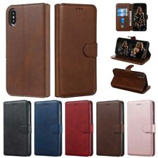 Slim Wallet Card Holder Leather Case Cover For Samsung Galaxy J3 J5 J7 J8 J4 J6+