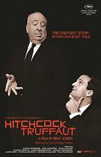 "Hitchcock Truffaut poster 11"" x 17"" inches - Alfred Hitchcock poster"