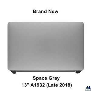 LCD Screen Display Assembly for Apple Macbook Air Retina A1932 2018 Space Gray