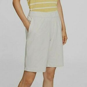 """*NWT* Nike Women's Sail (Ivory) Woven 11"""" Golf Dry Fit Shorts M"""