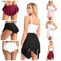 Women Ladies Tutu Skirt Princess Ballet Wrap Skate Fancy Dress Party Adult Dance
