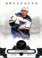 2017-18 Artifacts Hockey Card #28 Robby Fabbri Blues