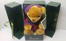 Harrods 2004 Christmas Bear with box