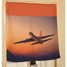 Airplane Plane Aircraft Hanging Door Curtain Window Scarf y39 y0069