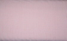 Baumwolle Canstein Vichy karo ca. 1 mm rosa-weiß 0,25m * 150 cm Stoffbreite