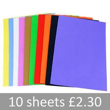 EVA Funky Foam Sheets. A4 Mixed Colours Crafts