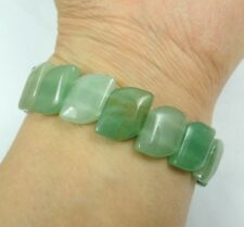 Fashion aventurine gemstone beads stretchable bracelet R2