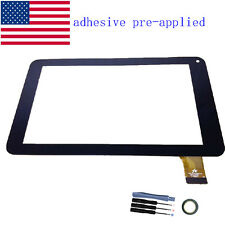 """New Digitizer Touch Screen Panel front glass For 7"""" DigiLand DL701Q Tablet PC"""